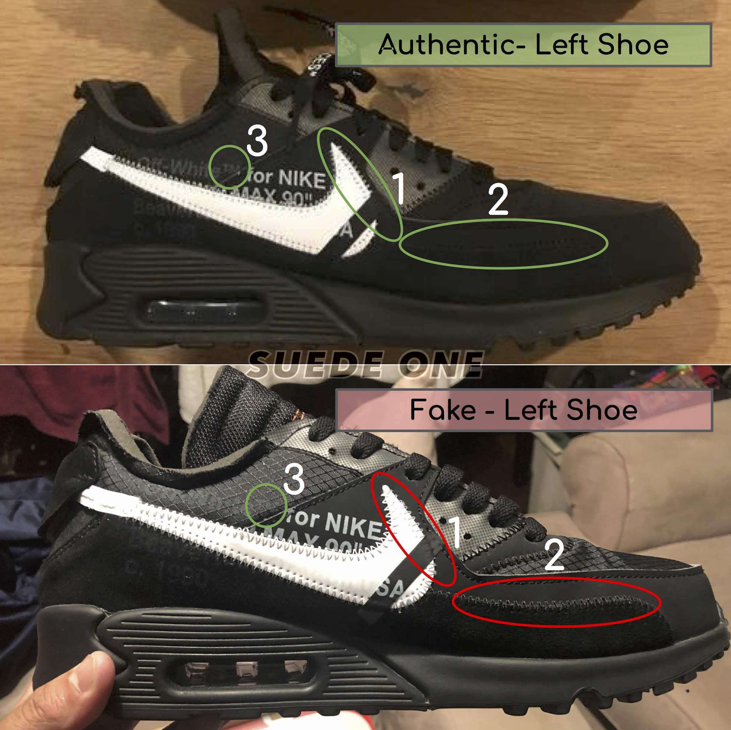 How To Legit Check The Off White Air Max 90 Black