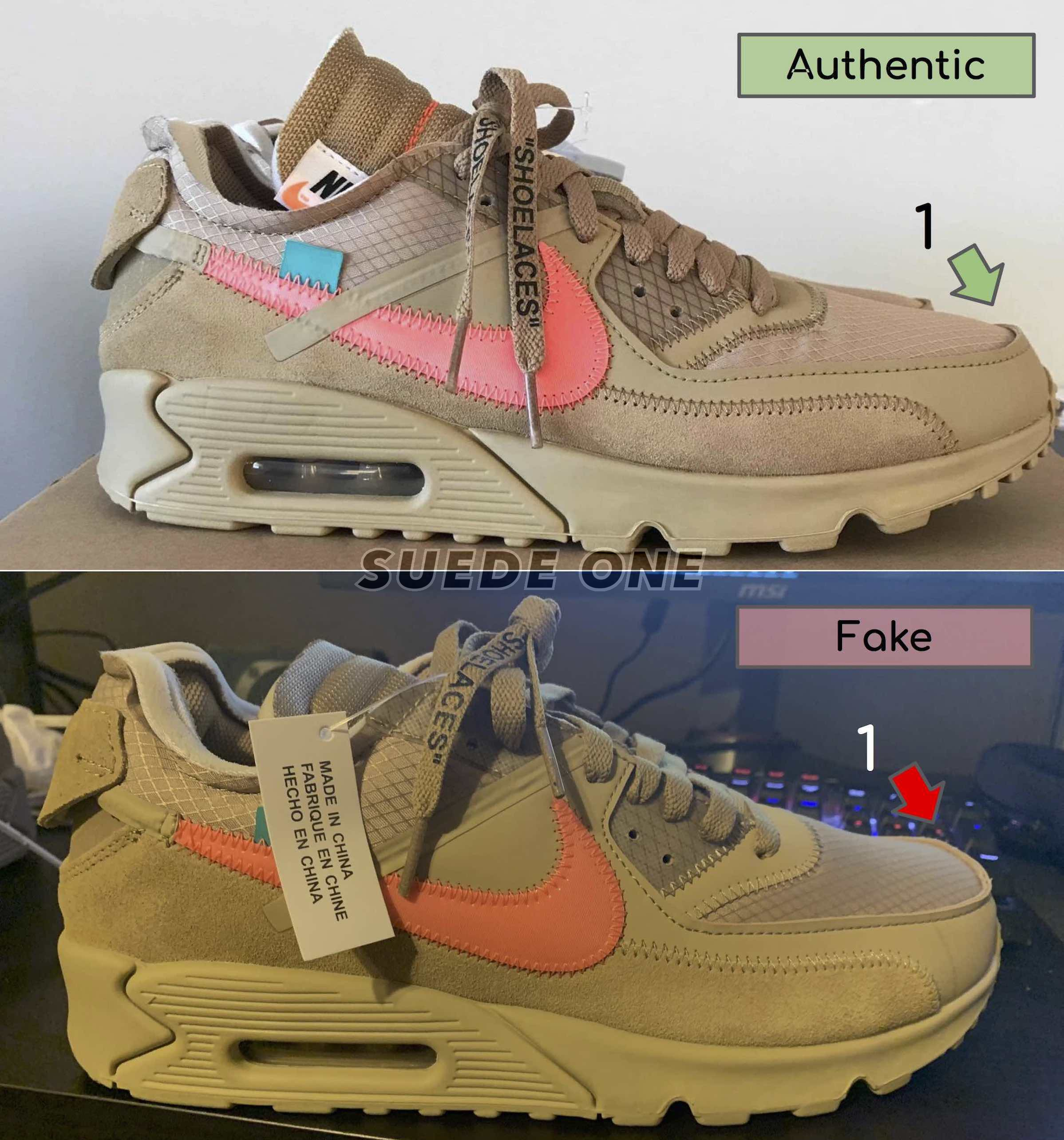 off white nike air max 90 replica