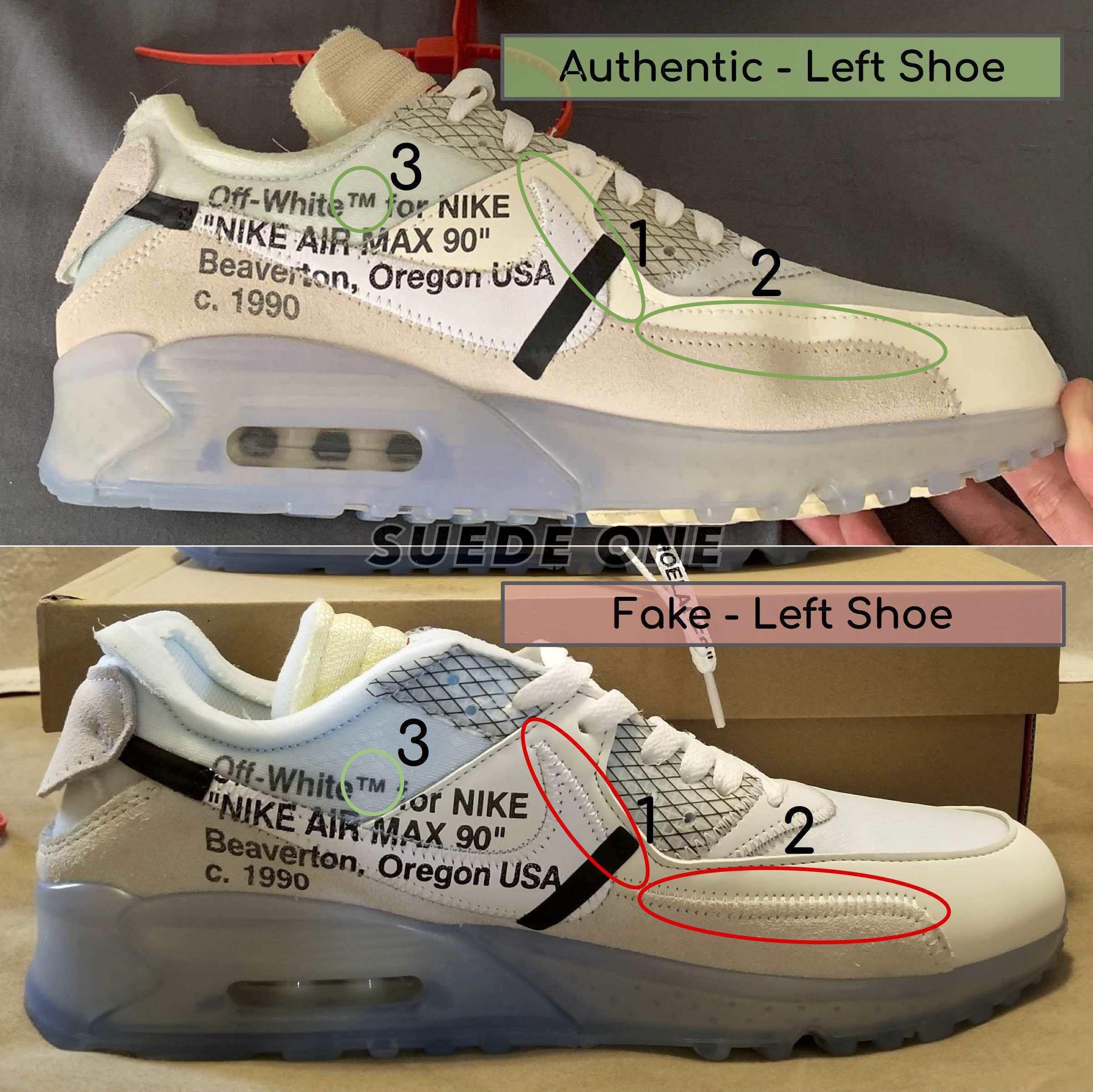 air max 90 og off white