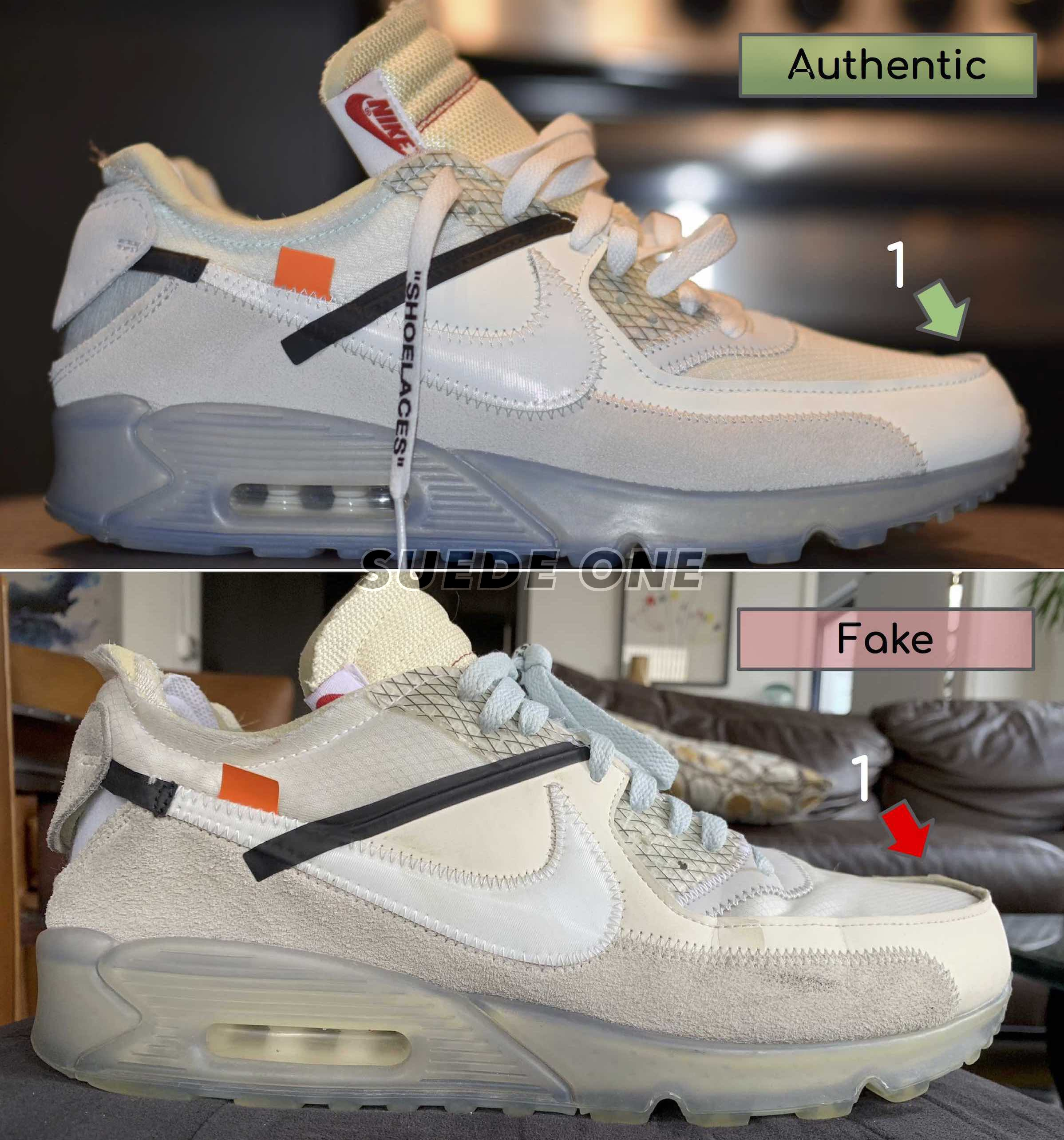 How to Legit Check the Off-White Air Max 90 \