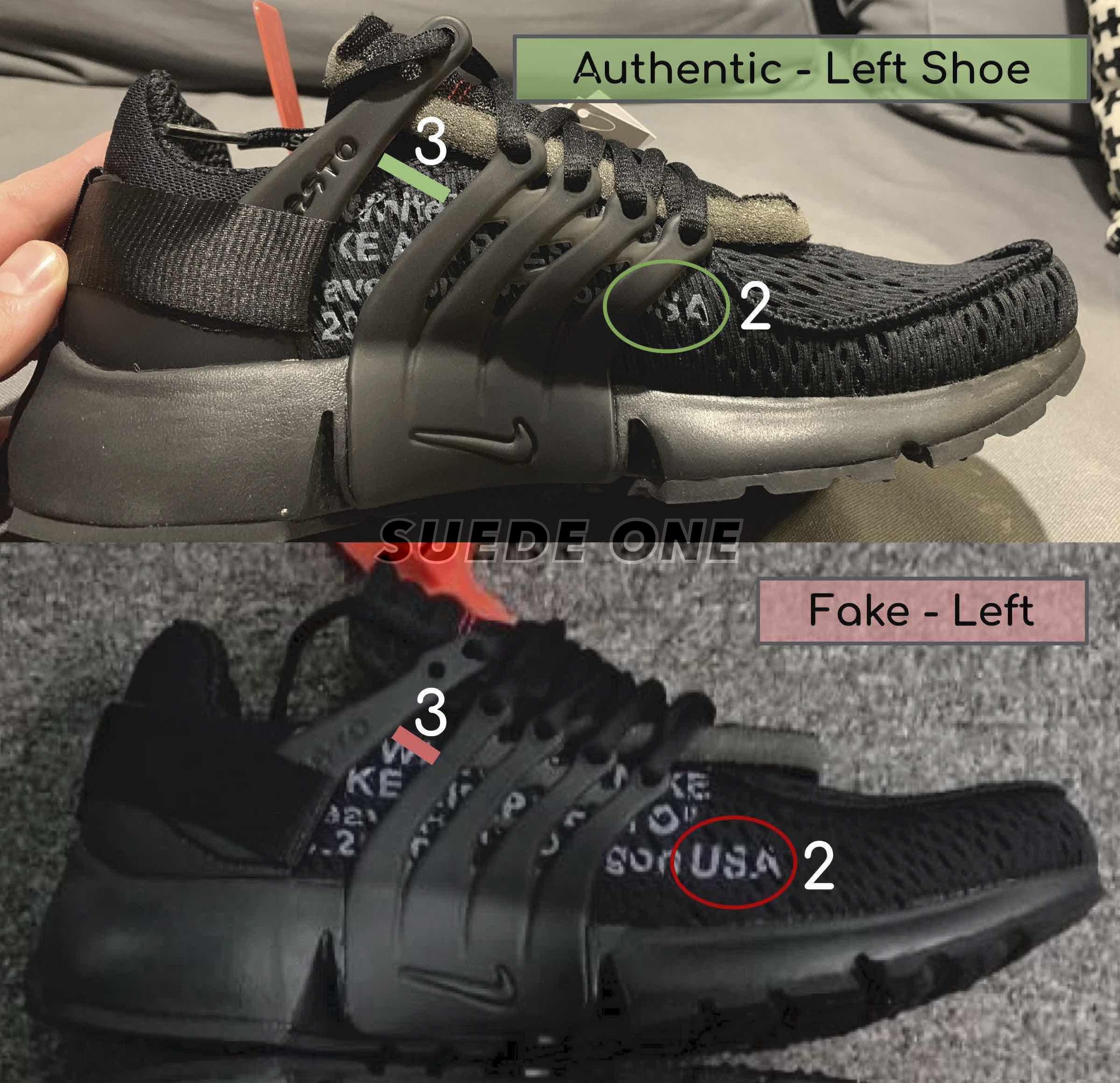 fake off white presto black